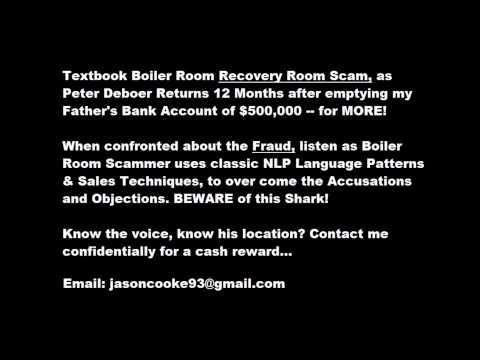 Boiler Room Sales Techniques
